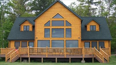 Photo for Large Lakefront Cabin on Shell Lake -450' Frontage / Very Private