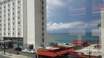 Ocean view from the apartment