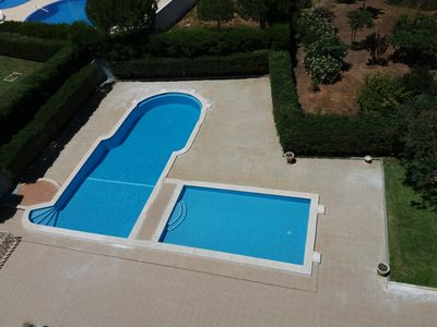 Photo for T2 for rent with pool in Praia da Rocha