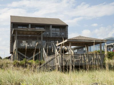 Photo for Saboutime: 6 BR / 3.5 BA home in Oak Island, Sleeps 16