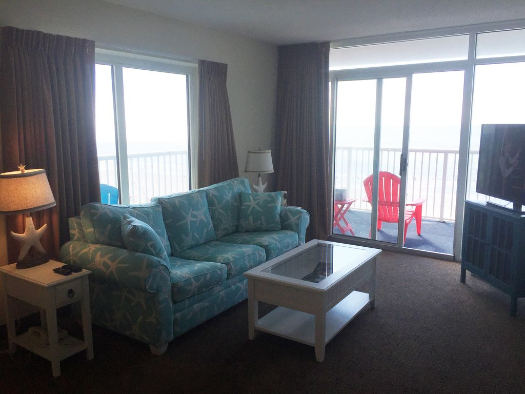 Myrtle beach sc seawatch resort ocean front 3 bedroom newly remodeled condo arcadian shores for 3 bedroom condo myrtle beach sc