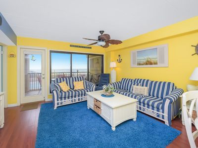 Photo for Direct Ocean Front 3 Bedroom 2 Bath with Outdoor Pool! *5 Star Deluxe package included for this property*