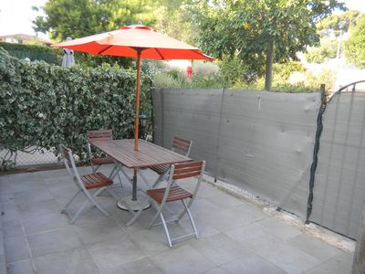Photo for Apartment 4 people Garden apartment with terrace