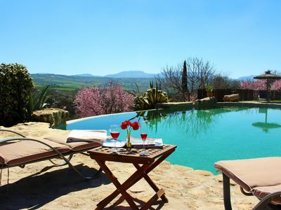 Photo for Two private pools  and a stunning villa near Ronda, Andalucia, Spain