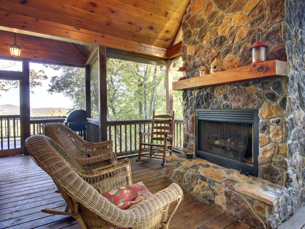 north georgia mtn home 3 gas log fireplaces homeaway blue ridge