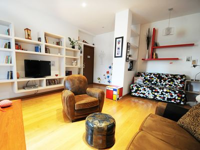 Photo for Modern holiday apartment in Rome with balcony