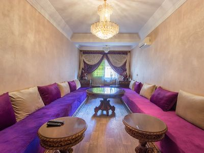 Photo for Your stay with full Service option in Moroccan Double Bedroom Appartment