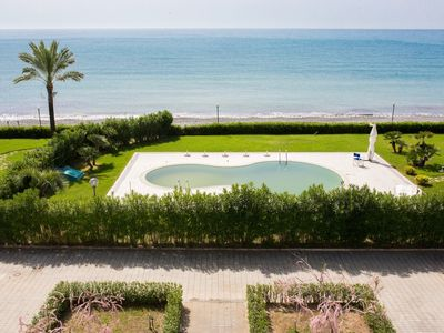 Photo for Residence directly on the sea, Cilento Pixous Resort (20A)