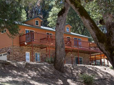 Photo for Yosemite Haus,14 miles to Yosemite.With views of the beautiful Sierra mountains