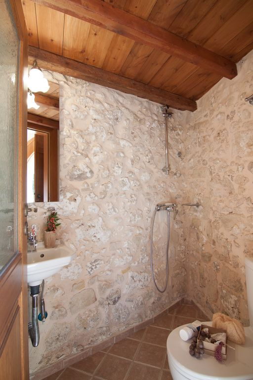 property image19 small luxury stone built cottage house in a quiet village with pool - Luxury Stone Showers
