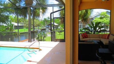 Photo for NEW! SF Home on canal -SCREENED Private Pool Near Beaches&Golf in Bonita Springs