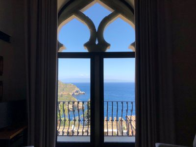 Photo for TAORMINA VILLA ELEONORA  PANORAMIC APARTMENT Sea View Terrace Taormina