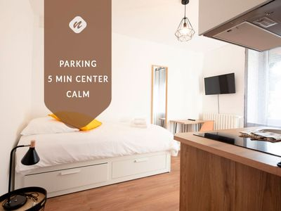 Photo for Studio Vahiny2 ☆ All comfort • WIFI NETFLIX • Parking
