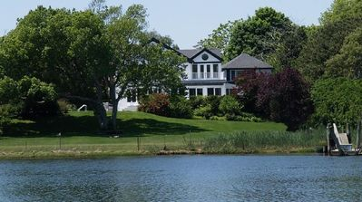 Photo for Stately Waterfront Home in Picturesque Westhampton Beach
