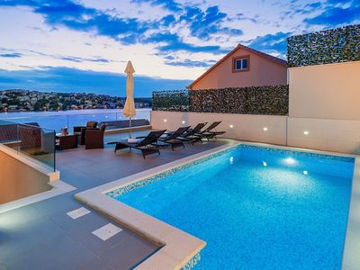 Photo for In Dvornica with Internet, Pool, Air conditioning, Parking (740052)
