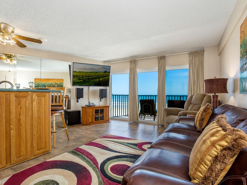 Oceanfront Suite For 4 On No Drive Beach Daytona Beac 1 Br Vacation Condo For Rent In Daytona