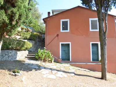 Photo for Cosy house part with stunning views on the lake of Massaciuccoli, 15 km from the beaches
