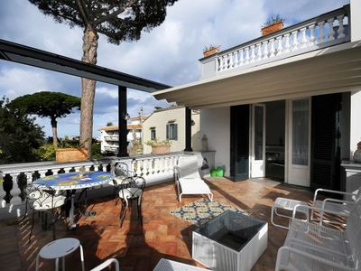 Photo for Sant'Agnello Villa, Sleeps 8 with Air Con and WiFi