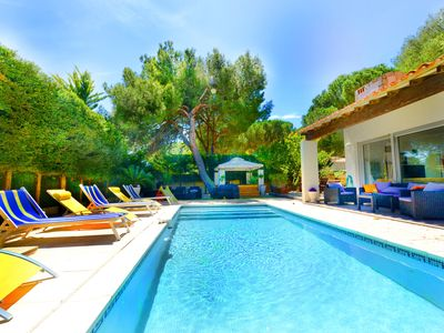 Photo for Villa Cap d'Agde Plage Private pool 12 people