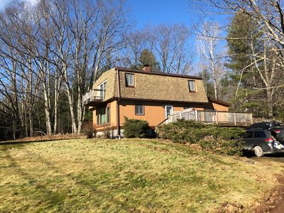 Photo for 4 Minute Drive to Windham Mountain, 14 to Hunter, Perfect for Families,  Hot Tub