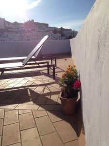 Photo for Lovely townhouse with private patio and 2 private terraces