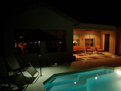 Enjoy this ambiance with an evening swim while studying the stars!