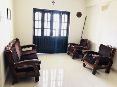 Photo for 1BHK cosey Apt in Candolim, Goa, close to the beach & Fort Aguada, convenient