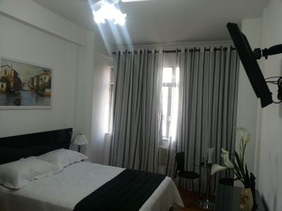 Photo for Beautiful and comfortable apartment in Copacabana