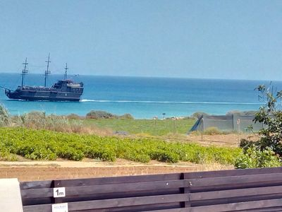 The Sea View with Pirate Ship