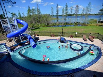 Photo for The Great Escape Lakeside Sleeps 46 People ! 13 Bedrooms, 11 Bathrooms & More!