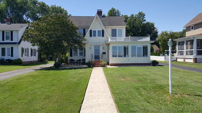 Photo for Waterfront Home on the Choptank River in Cambridge MD 3 bed room 2 bath and pool