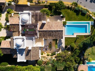 Photo for Stunning private villa for 12 guests with private pool, A/C, WIFI, TV, balcony and parking