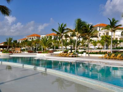 Photo for Luxury Oceanfront Condo On Private Beach In Cap Cana