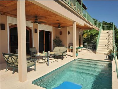 Photo for Stunning 4 bedroom with ocean views + pool