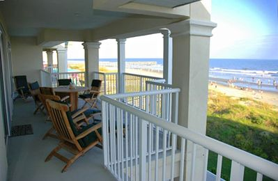 Incredible Views of the Atlantic Ocean from the Large Porch