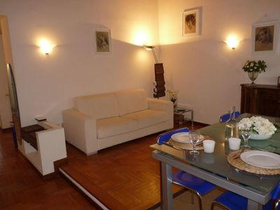 Photo for Classic Duomo apartment in Duomo with WiFi & integrated air conditioning.