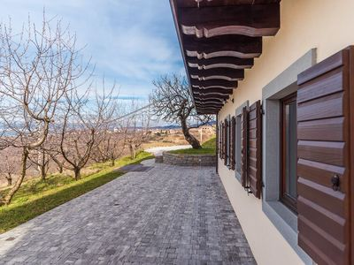 Photo for Cherry Orchard House, Karst Region - Spacious house with wonderful views over vineyards.