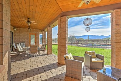 Escape to serenity when you stay at this Tucson vacation rental home.