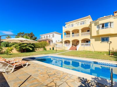 Photo for This 5-bedroom villa for up to 12 guests is located in Rincon De La Victoria and has a private swimm