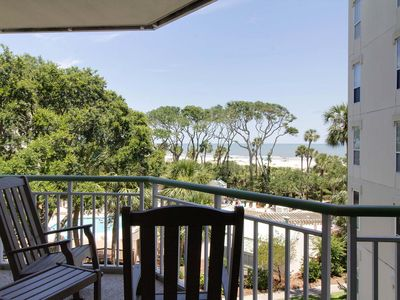 Photo for Condo with shared pool & hot tub, private balcony overlooking the ocean!