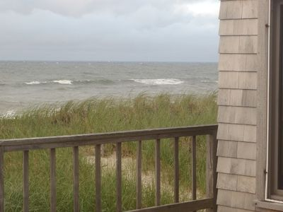 Some waves in June 2012 - taken off the front deck of the house