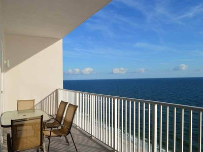 Photo for Inviting Gulf-Front Condo In Perdido Key! Steps To Beach! Gulf-Front Pool