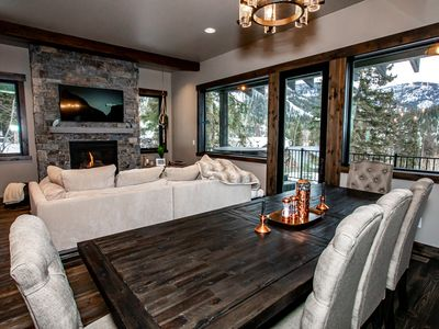 Photo for Ski and Bike the slopes of Whitefish Mountain Resort from this Luxe Townhome