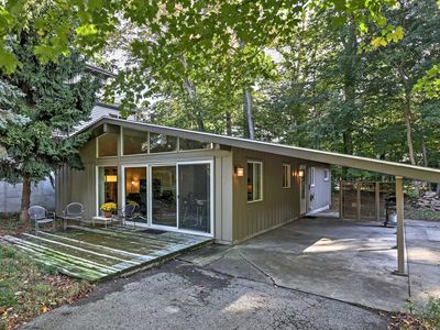 Photo for Serene Cottage w/ Patio - Steps to Lake Michigan!
