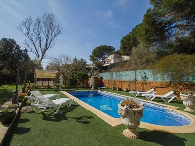 Photo for Club Villamar - Nice and cozy villa with a beautiful garden with private pool and good privacy