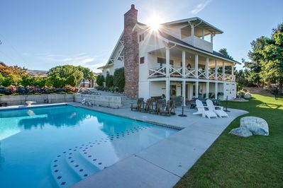 Enjoy the Farm House with the amazing pool!