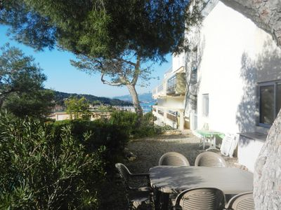 Photo for Nice T2 of small residence: shaded garden, seen sea, nearness beach