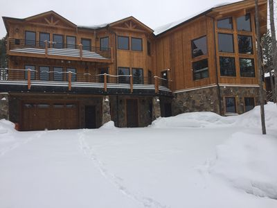 Photo for Custom 6 Bedroom Ski-in/Ski-out Home with the highest amenities!