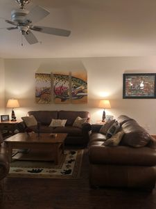 Photo for Peaceful, ground floor condo by the lake surrounded by endless outdoor pursuits!