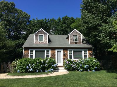 Photo for Charming Sag Harbor Cape Next to Beach and Village